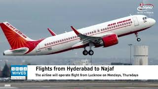 India to launch direct Air India flights to holy Najaf