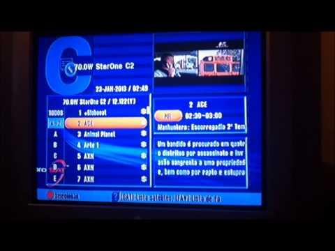 Curiosidade StarOne C2 Todos Os Canais Sem Codificação 23 01 2013