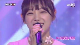 『HD中字』I.O.I(아이오아이) - When the cherry blossoms fade(如果櫻花凋落) 160510 Debut Stage