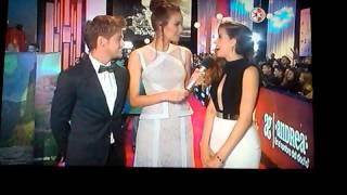 Paulina Goto y Polo Morin en premiosTvyNovelas2015