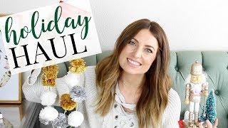 Holiday Decor Haul: Target/Michaels/Walmart | Kendra Atkins