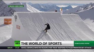 Olympic Gold Medalist Sets New Snowboarding Record