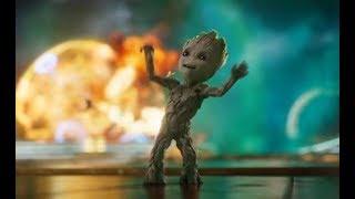 Guardianes de la Galaxia Vol. 2 Intro Baby Groot Español Latino
