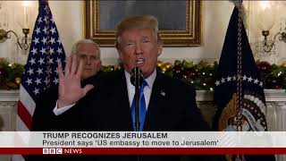 Donald Trump - Jerusalem is Israel