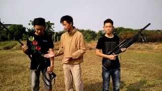Damage Test - Barrett Pvc Gun VS Sharp Tiger Airgun