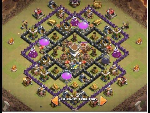 clash of clans 2015 th8 war base the end anti dragon anti