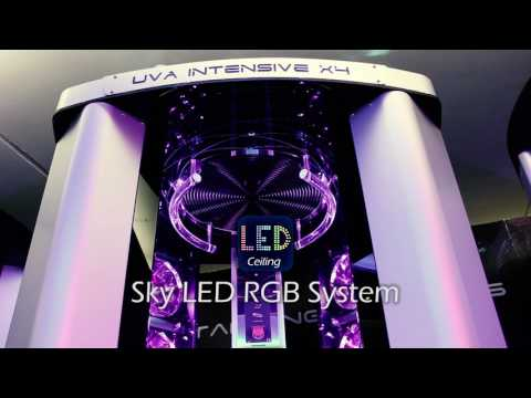 X4 High Pressure sunbed tanning Showcase video Model with Features 2017