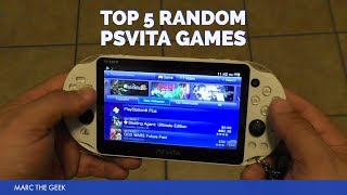 Top 5 Random PSVita Games