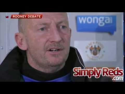 Ian Holloway's outburst on Wayne Rooney