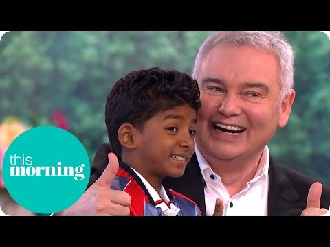Lion Star Sunny Pawar Charms Ruth and Eamonn | This Morning