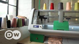 A revolutionary knitting machine   DW English