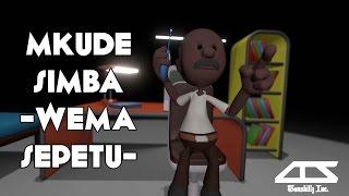 Mkude simba - Wema Sepetu   Tanzanian comedy Animation