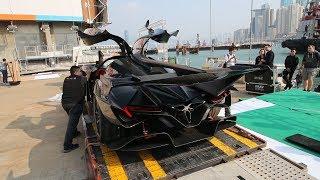 The $2.7Million Batmobile that is Pagani's Worst Nightmare