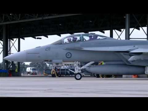 Task Unit Headquarters at RAAF Base Amberley Talisman Saber 2013