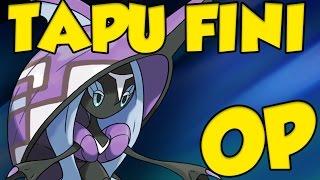 How to Use Tapu Fini! Pokemon Sun and Moon Tapu Fini Moveset and Tapu Fini Guide