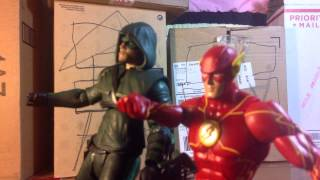 flash vs arrow stop motion