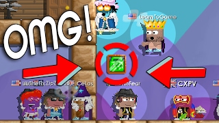 Growtopia | Dropping 3 EMERALD LOCKS in SEEDIARY! OMFG!! (almost Scammed) ✔️️