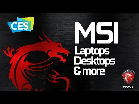 MSI s vast gaming PC options at CES 2017