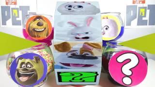 The Secret Life of Pets Slime Game - Surprise Toys Frozen, Lion Guard, Finding Dory
