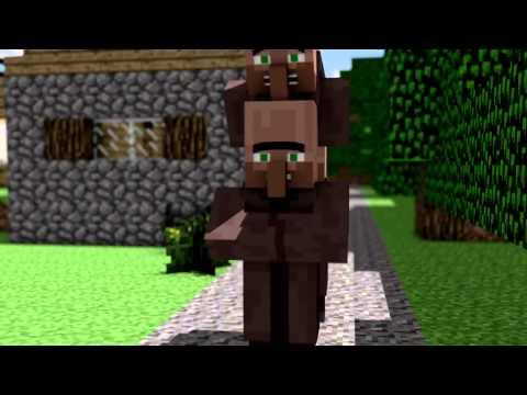 Falusi híradó Minecraft animáció Szinkronizált