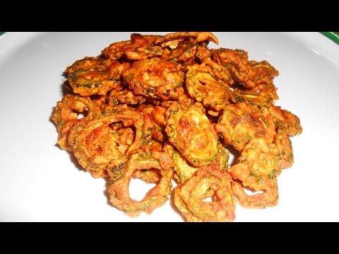 karela (Bitter Gourd) chips