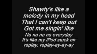 Shawty Like a Melody lyrics
