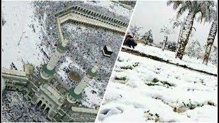 Video Badai Salju di Makkah Sempat Bikin Heboh, Jamaah Haji Wajib Waspada