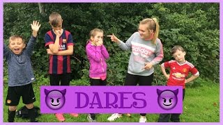 Dares! Ft. Julia, BF Boys and Awesome Aaron 123 | Mikayla Rose