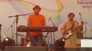 Ta Jani Na Minar Rahman live 2017 in AIUB boishakhi
