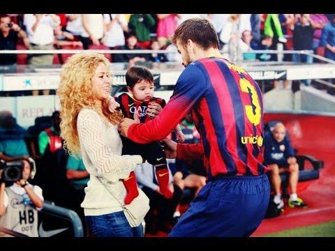 Shakira y Milan apoyan a Pique las mejores imagenes