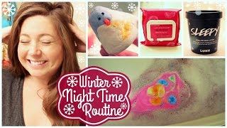 Winter Night Time Routine! ❄HolidAMY Day 12 | 2016❄