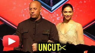 Deepika Padukone Vin Diesel | xXx Return of Xander Cage India Premiere | Full Event | UNCUT
