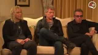 M80 Rádio - Vanda Miranda entrevista Bon Jovi   A nova vida da banda