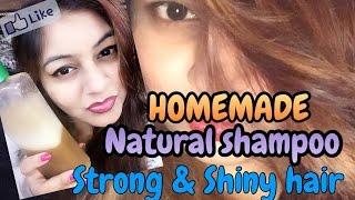 Homemade Natural Protein shampoo - Strong Hair |  DIY Keratin Shampoo at home