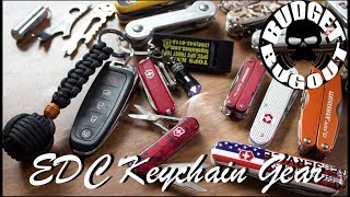 Keychain Gear for Everyday Carry (EDC) | Budget Bugout