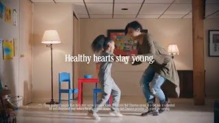 Mommy and Daughter duo in Cheerios Commercial
