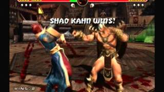 Mortal Kombat Armageddon-Shao Kahn Vs Shinnok