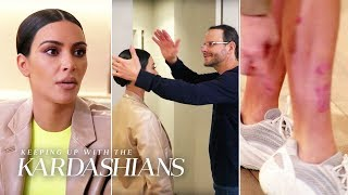 Kim Kardashian Consults The Medical Medium For Help With Her Out-of-Control Psoriasis   KUWTK   E!