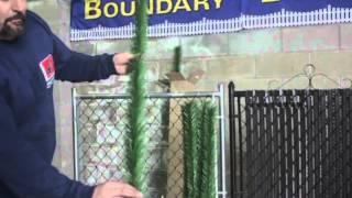 Boundary Slats Installation Part 1