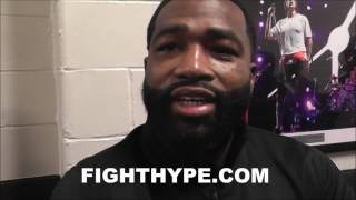 "ADRIEN BRONER SAYS CONOR MCGREGOR A ""DAMN FOOL"" IF HE DON"