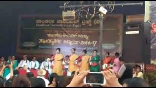 MH college Santhali dance 24thFeb 2017