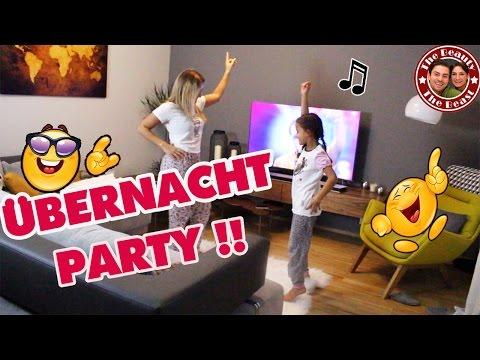 watch ÜBERNACHT PARTY MIT MILEY - wir tanzen die ganze Nacht! Mega viel Spaß!   daily VLOG TBATB