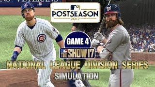 MLB The Show 17   National League Division Series Cubs vs Nationals Game 4 Sim
