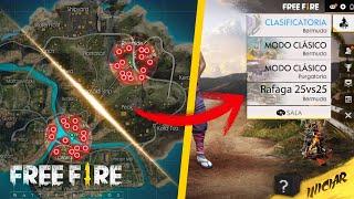 """POR FIN!! ACTUALIZACION DE FREE FIRE CON MODO RAFAGA 25 VS 25 JUGADORES - NUEVO PERSONAJE """"KLA"""""""