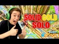 Solid Gold Solos (NEW LEGENDARY ONLY!) in Fortnite Battle Royale!