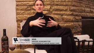 Niia Sundance 2017 Interview Wine and Music