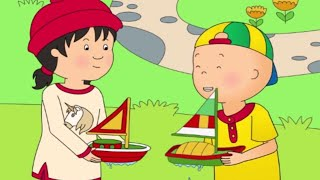 Funny Animated cartoons Kids | NEW | Captain Caillou | WATCH ONLINE | Cartoon for Kids