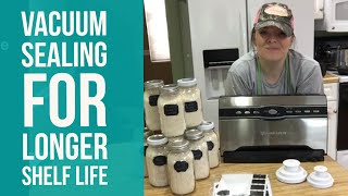 How To Vacuum Seal Mason Jars With The FoodSaver 3880