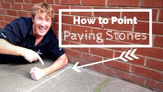How to Point Paving Slabs - a Simple Patio Jointing Guide for Beginners