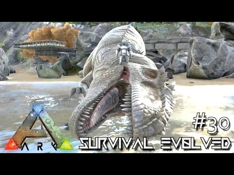 ARK Survival Evolved TAMING GIGANOTOSAURUS NEW DINO Ep 30 Server Gameplay